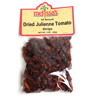 Dried Julienne Tomato Strips