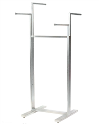 Satin Chrome 4-Way Adjustable Rack
