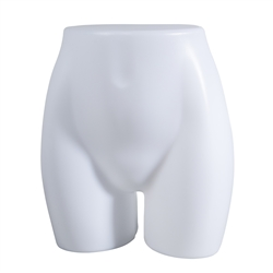 Unbreakable Female Slip Torso Butt Form from www.zingdisplay.com