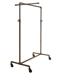 Garment Display with Single Bar and One Cross Bar