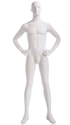 White Male Mannequin - Hands on Hips from www.zingdisplay.com