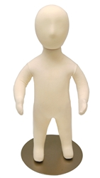 Adjustable Child Mannequin | 6-Month Old Unisex Flexible Mannequin