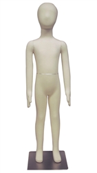 Photo: Adjustable Child Mannequin |8-Year Old Unisex Poseable Child Mannequin
