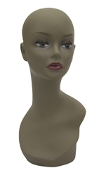 African American Female Display Head