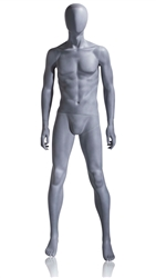 Photo: Abstract Mannequin | Patrick Abstract Mannequin in Slate Grey from www.zingdisplay.com