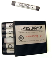 Stones Lithographic Crayons 1/2""