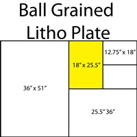 Ball Grained Aluminum Plate