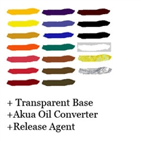 Akua Intaglio Complete Color Set