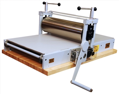 Table top etching press