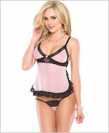 Babydoll And G-String Set CQ-2406