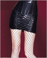 Wetlook Gathered Skirt