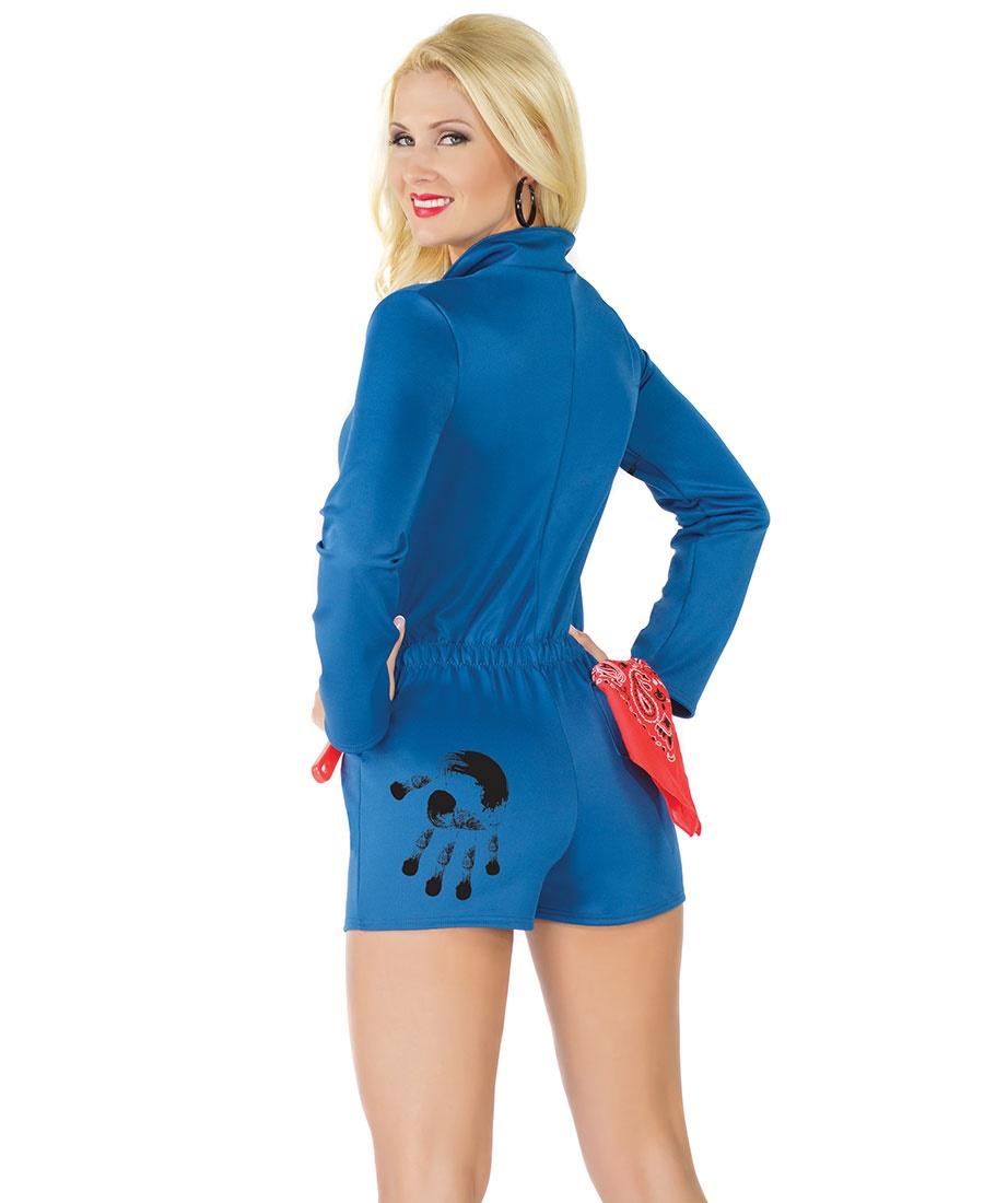 Sexy mechanic halloween costume