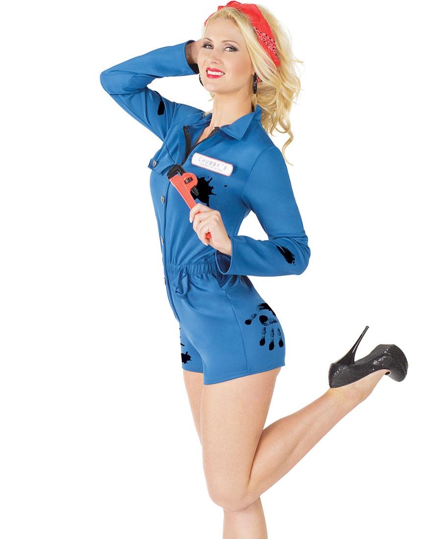 Mechanic Women\'s Halloween Costume CQ-M6193