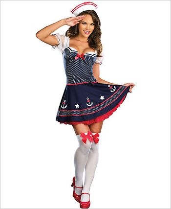 Ship Happens Sexy Sailor Adult Costume DG-7574