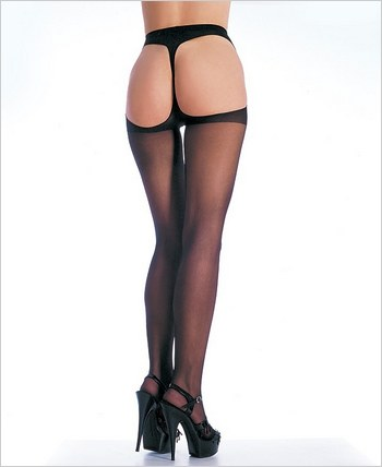 Leg Avenue® Thong Back Sheer Pantyhose LA-1902