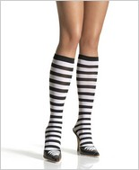 Leg Avenue® Striped Knee Highs LA-5577
