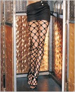 Leg Avenue® Five String Fence Net Pantyhose LA-7108