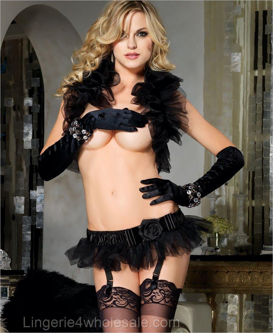 Skirt Garter Belt