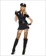 Leg Avenue® Dirty Cop Sexy Adult Costume LA-83344