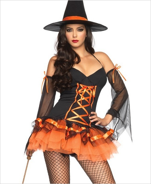 Kandy korn witch sexy costume