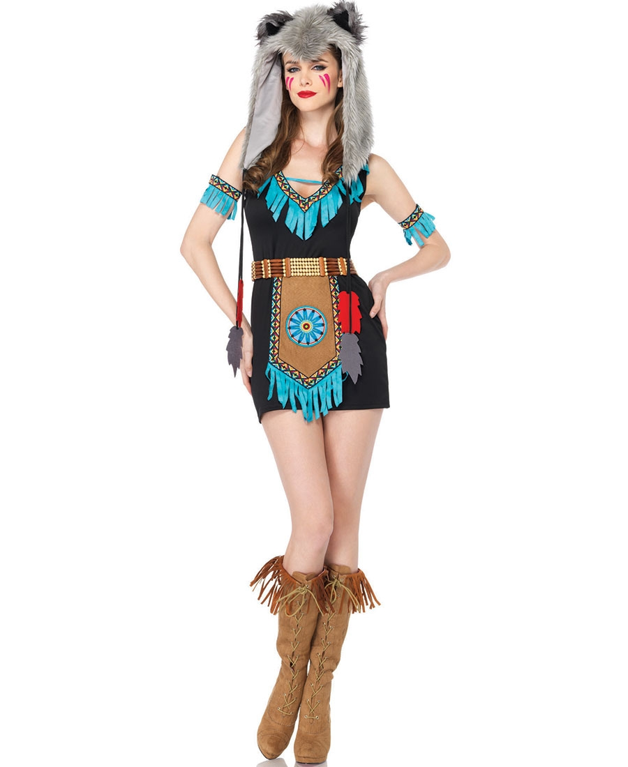 wolf warrior womens halloween costume la 85205 - Halloween Costumes Wolf