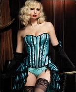 Leg Avenue Betty Corset With Support Boning LA-86335