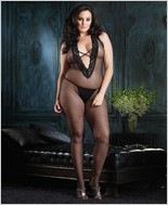 Leg Avenue® Halter Bodystocking LA-89041Q