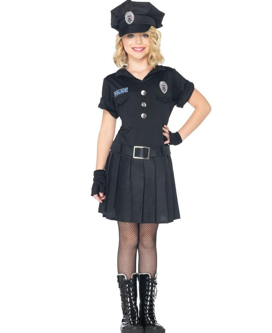 playtime police kids costume leg avenue c48171