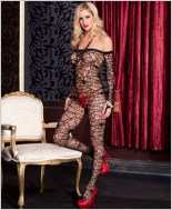 Spider Net Bodystocking ML-1099
