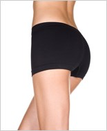 Black Seamless Boy Short ML-120-Black