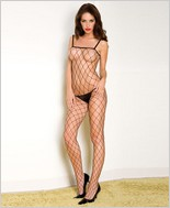 Music Legs® Lycra Fence Net Bodystocking ML-1924