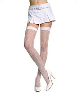 Music Legs® Lace Thigh Hi ML-4729