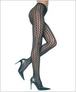Music Legs® Designed Pantyhose ML-5035