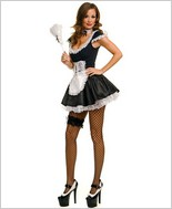 Music Legs® Sexy French Maid Dress ML-70133