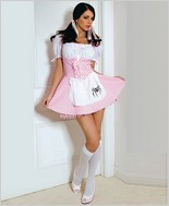 Music Legs® Pink Gingham Muffet Dress ML-70174
