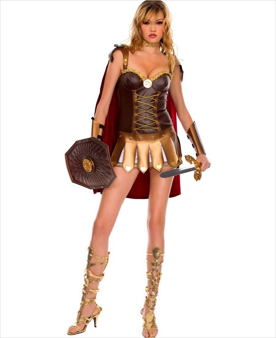 Sexy roman woman warrior costume ...  sc 1 st  Lingerie 4 Wholesale & Roman Woman Warrior Outfit ML-70203