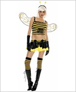 Music Legs Sexy Honey Bee Adult Costume ML-70233