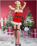 Music Legs Mrs Clause Sexy Adult Costume ML-70251