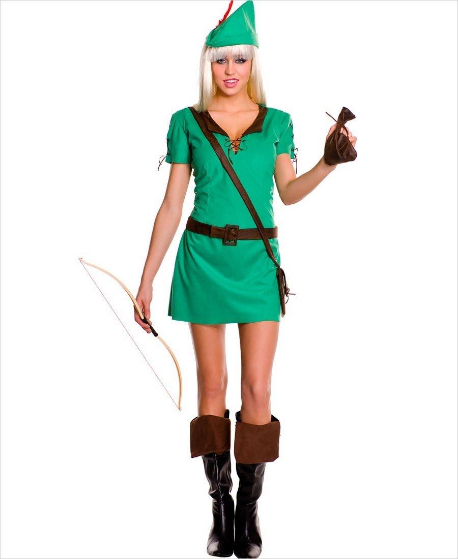 Robin hottie costume ...  sc 1 st  Wholesale Lingerie & Robin Hottie Adult Costume ML-70426