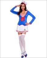 Adult Anchors Away Sailor Costume ML-70468