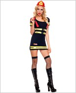 Adult Fire Hazard Honey Costume ML-70482