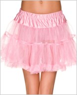 Pink Single Layer Petticoat ML-711-Pink