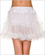 White Single Layer Petticoat ML-711-White