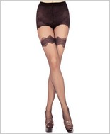 Music Legs® Sheer Pantyhose ML-7155