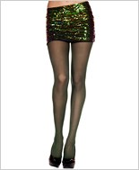 Music Legs® Lycra Ribbed Tights ML-7410
