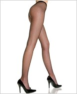 Plus Size Seamless Fishnet Pantyhose