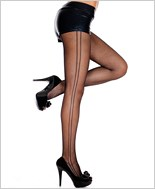 Double Side Seam Fishnet Pantyhose