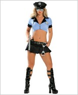 Roma® Sexy Police Officer Adult Costume RC-1368