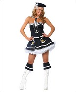 Roma® Sexy Flirty Sailor Adult Costume RC-4018