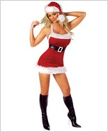 Chic Santa Sexy Adult Costume By Roma Costume RC-C126